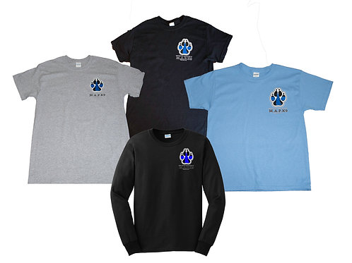 M.A.P.K.9 Tee - Small Paw Logo