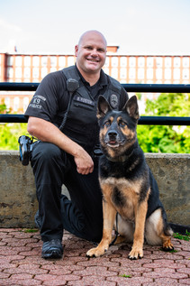 K-9 Moose and Officer Foster