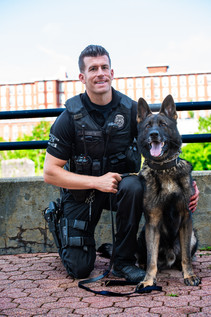 K-9 Bauer and Detective Fierimonte