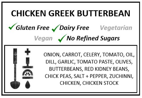 Chicken Greek Butterbean Soup