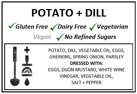 Potato + Dill + Caper Salad