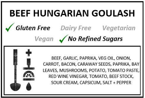 One Pot | Beef Hungarian Goulash