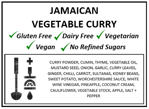 One Pot | Jamaican Vegetable Curry