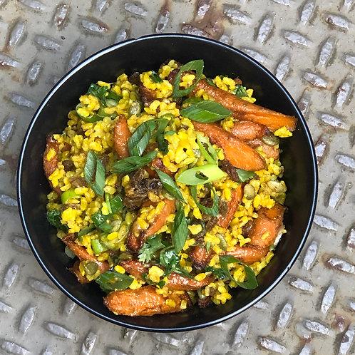 Spiced Brown Rice Salad