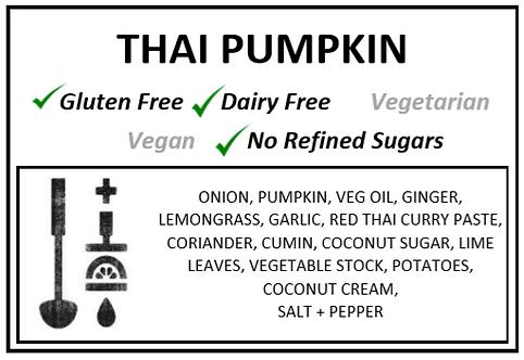 Thai Spiced Pumpkin Soup