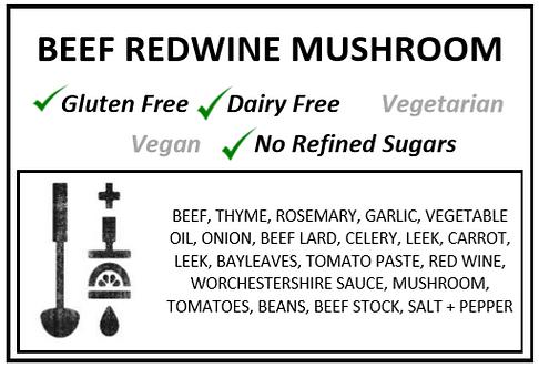 One Pot | Beef Mushroom + Red Wine