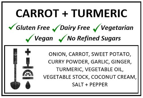 Carrot + Turmeric Soup
