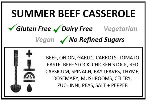 One Pot | Beef Summer Casserole