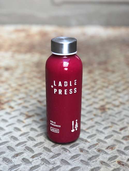 Cold Pressed Beets + Orange Juice