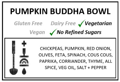 Pumpkin Buddha Bowl