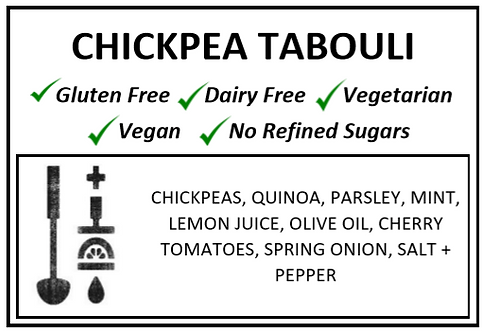 Chickpea Tabouli Salad