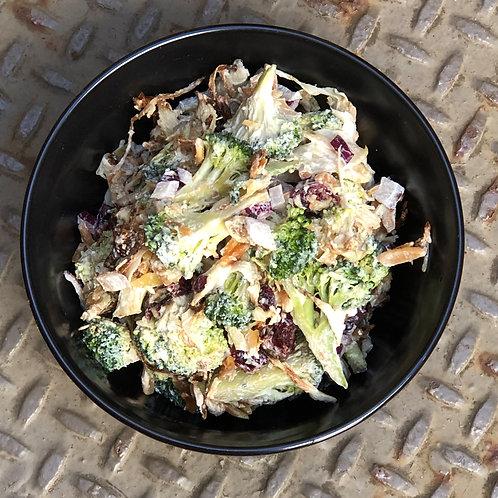 Broccoli + Almond + Fennel Salad