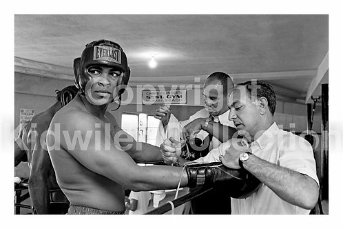 Cassius Clay 5th Street Gym in MIami 1967