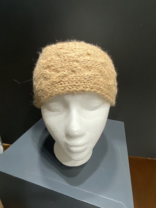 Hand Knitted Headband and Neck Wrap