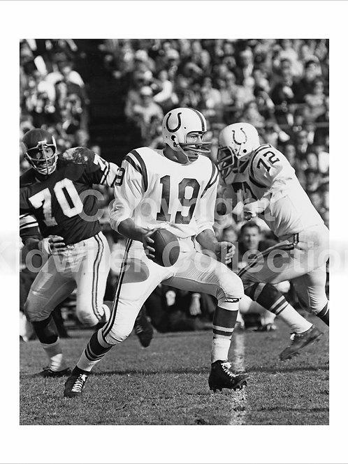Johnny Unitas Baltimore Colts