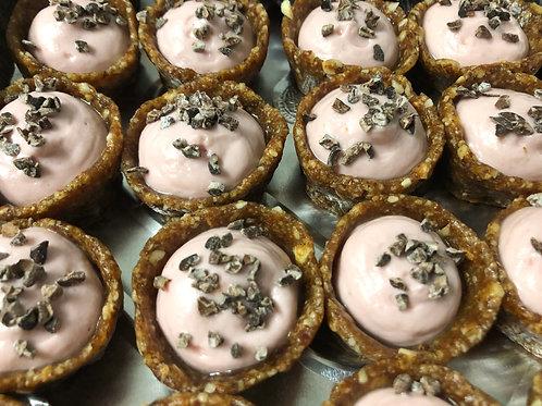 Box of 5 Mini Strawberry Cheezecakes