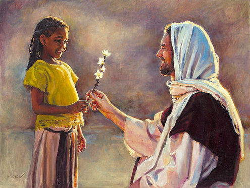 """""""The Gift"""" paper print by Rod Peterson"""