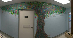 Saturn Mural Tree