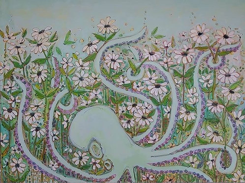 Minty Kraken Daisy Garden