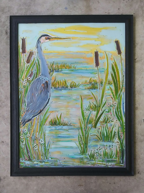 Great Blue Florida Marsh