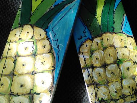 Margarita Moby & Christmas Pineapples