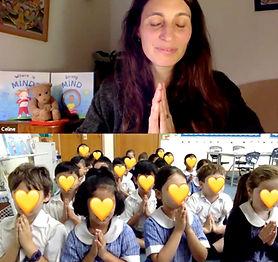 Erasmus_Primary_School_Meditation_Beginn