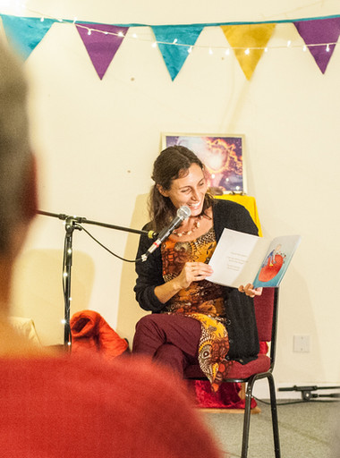 Book Reading at Great Illumination, Transmission Gathering with Candice Rinpoche 2018