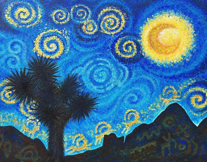 Fawn Douglas, Starry Night Gold Butte, 2