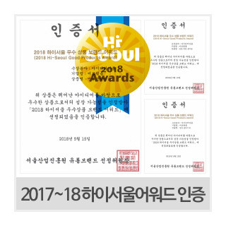 2017~18 꼬꼬미 하이서울어워드 인증