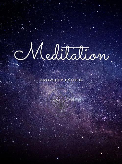 Meditation - Kropsbevidsthed