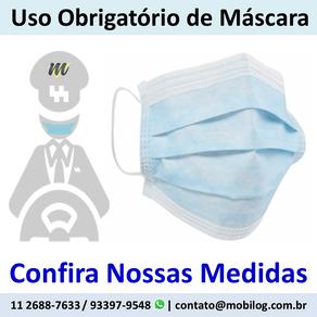Usar Máscara Protege Você e os Demais Ocupantes :)