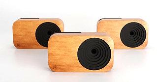 Bitti Gitti wooden smart phone speaker