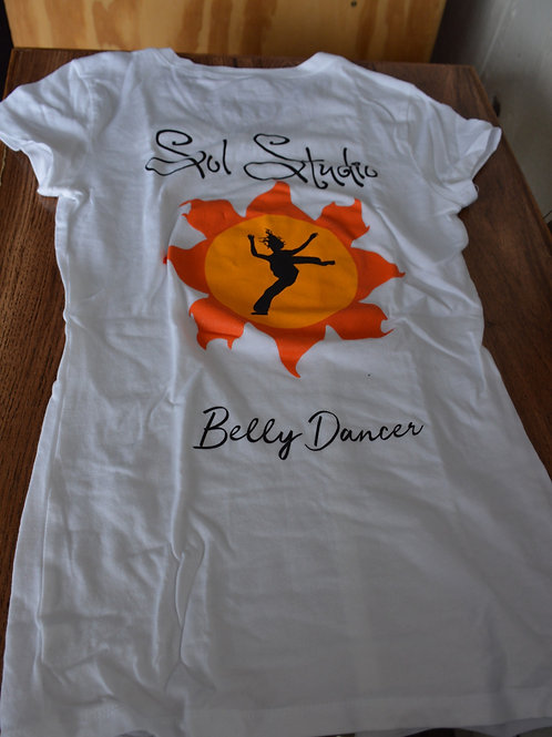 T-shirt: Women's Belly Dancer- Extra Small
