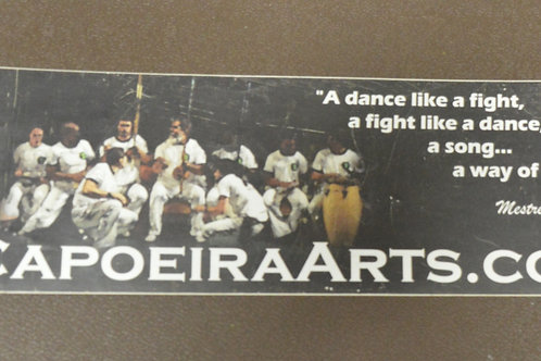 Bumper Sticker: CapoeiraArts.com