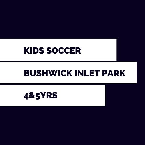 Bushwick Inlet, Sun 8.40am for 4&5yrs  - Spring 2021