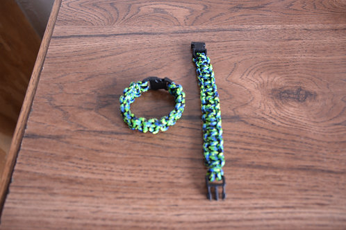 Wristbands: Brazil Flag Colors