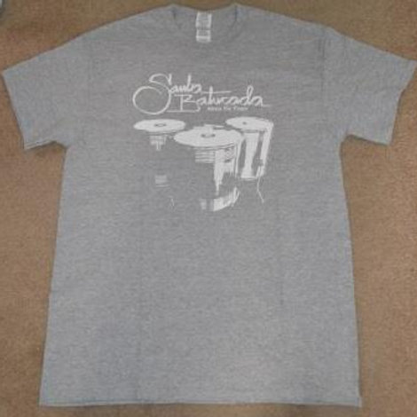 T-shirt: Adult Samba Alma de Fogo-Large