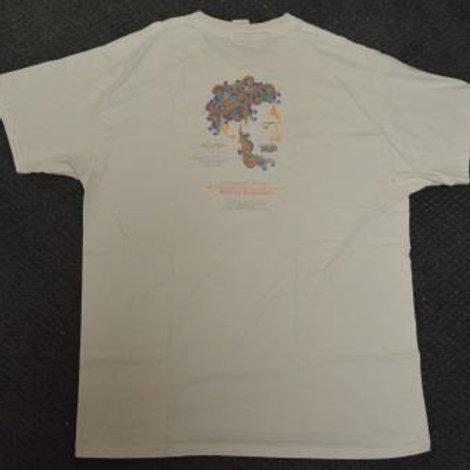 T-shirt: Adult 2008 Canto do Galo Batizado-Large