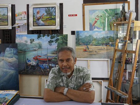 The Tale of Malaysia's Diversity Told Through a Brush of Paint