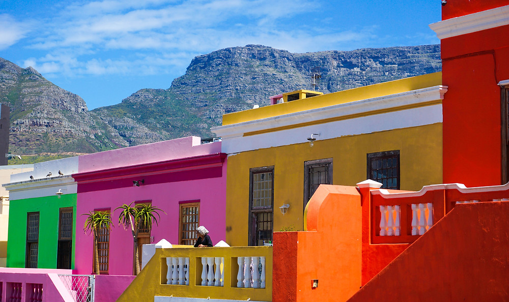 Colourful houses in Bo-Kaap
