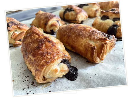 Flavours of the World: Homemade Pain au Chocolat