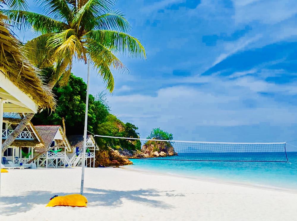 Resort by the beach