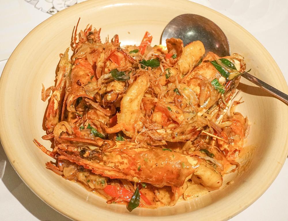 Sri Lanka seafood dish