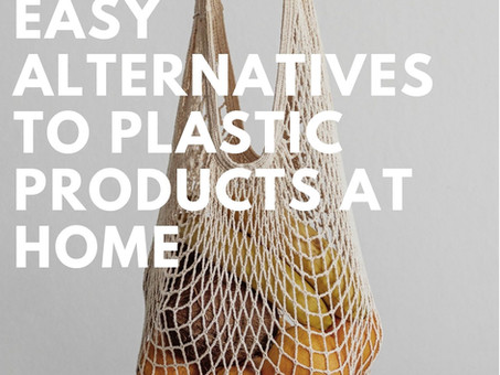Easy Alternatives to Plastic Products at Home