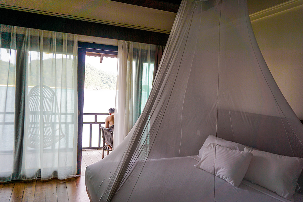 Hotel room at the Gem Island Resort & Spa
