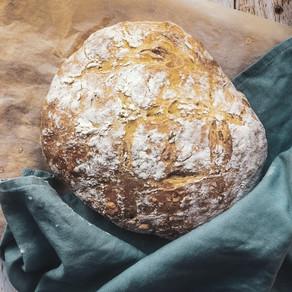 Homemade Rosemary Garlic Bread
