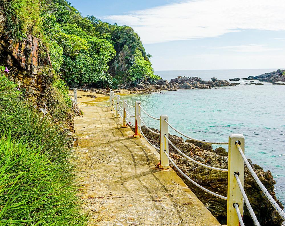 Beach on Gem Island