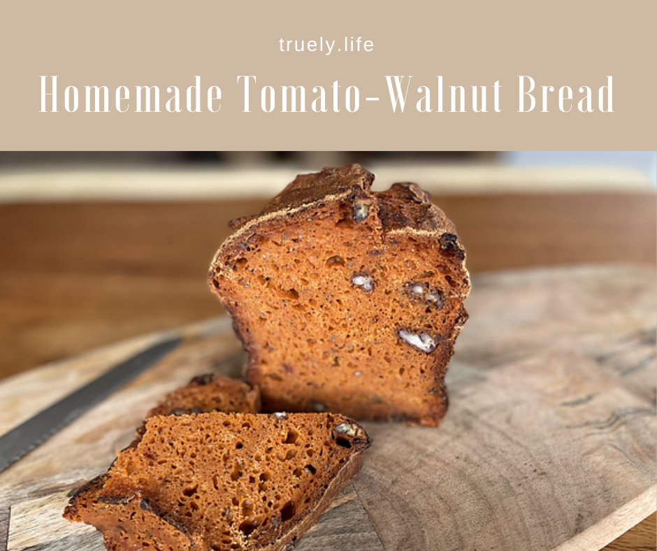 Homemade Tomato Bread