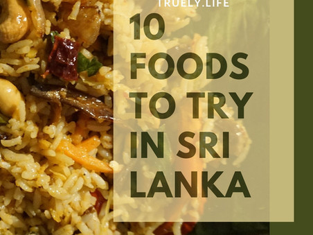 10 Foods You Must Try in Sri Lanka