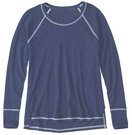 ladies-tweens-raglan-sleeve-t-shirt-navy